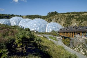 Cornwall Rundreise mit dem E-Bike: Eden Project