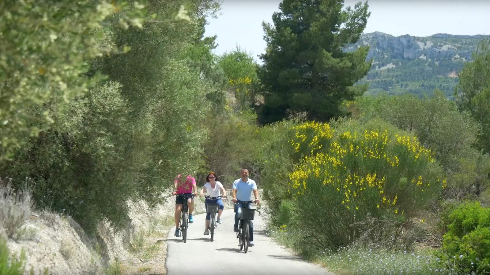 Reisen mit E-Bike