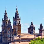 E-Velo Reisen entlang des Jakobweges - die Kathedrale von Santiago de Compostela