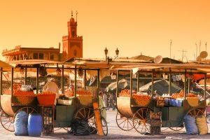 E-Bike Reisen in der Marokko - Marrakesch erleben, Märkte und Moscheen in der Königsstadt