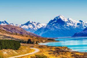 E-Velo Reisen in Neuseeland - Mount Cook