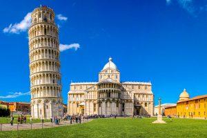 E-Bike Radreise durch die Toskana - Der schiefe Turm von Pisa