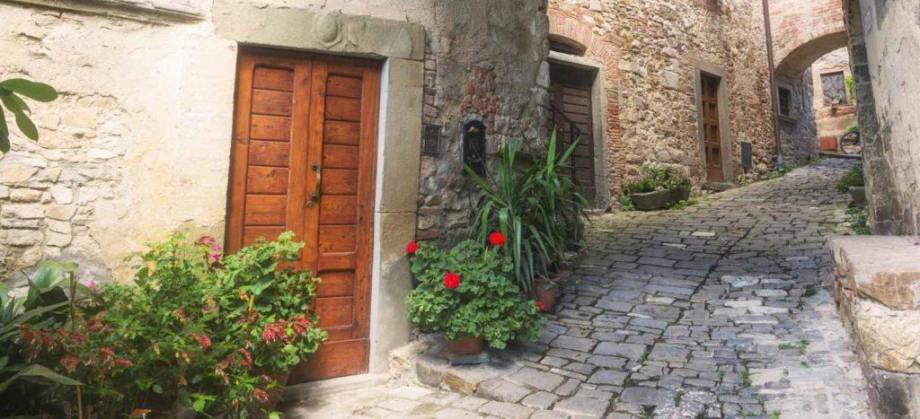 Montefioralle in der Gemeinde Greve in Chianti mit dem E-Bike entdecken