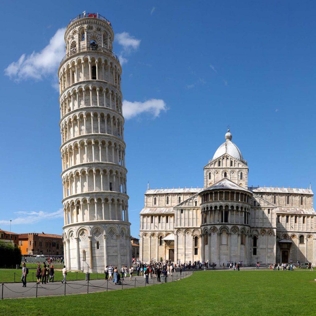 Pisa Sehenswürdigkeiten - Der schiefe Turm von Pisa - Toskana Rundreise