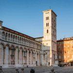 Lucca - San Michele in Foro - Erleben Sie Lucca auf Ihrer Radreise durch die Toskana