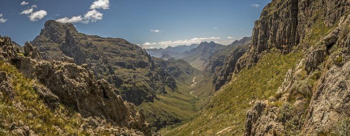 Südafrika Sehenswürdigkeiten - Jonkershoek und Assegaaibosch Naturreservat