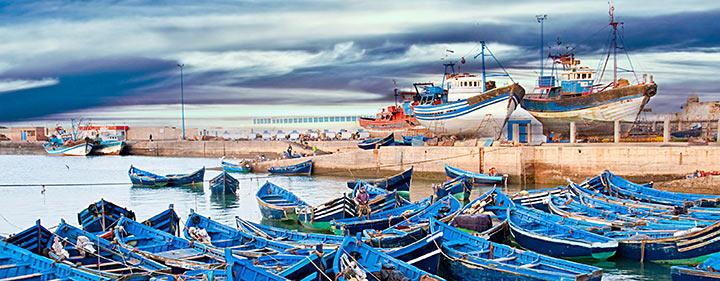 Ausblick auf den Atlantik - Marokko Sehenswürdigkeiten