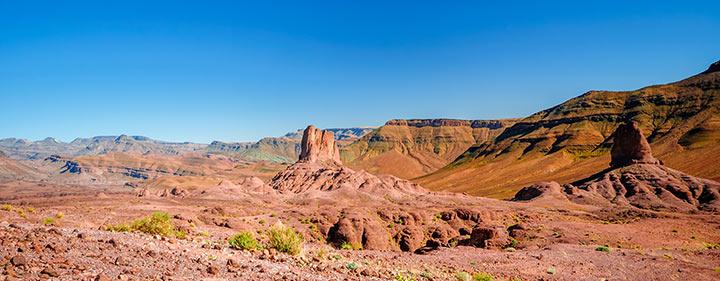 Djebel Saghro und Draa Tal in Marokko