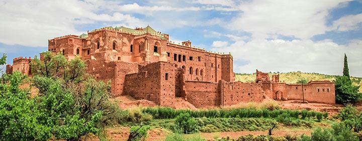 Kasbahs von Telouet - Marokko Sehenswürdigkeiten