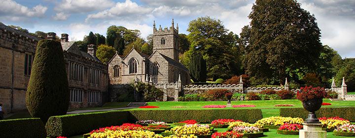Lanhydrock Garden eine der schönsten Sehenswürigkeiten in Cornwall