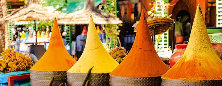Marokko - kulinarische Spezialitäten