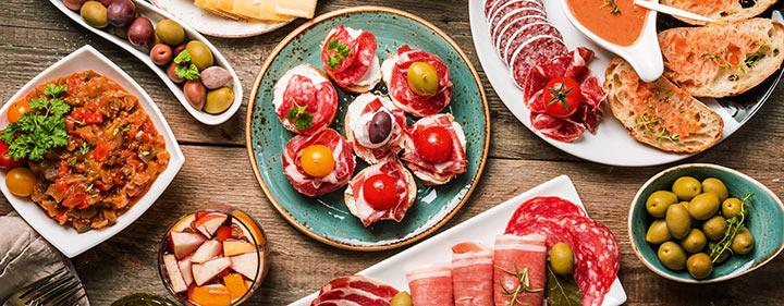 Andalusien - kulinarische Spezialitäten