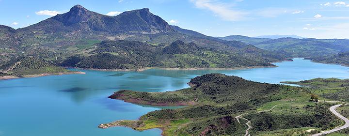 Stausee Zahara-El Gastor – mitten in den Bergen Andalusiens