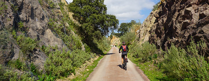 Via Verde de la Sierra – großartiger Radweg in Andalusien
