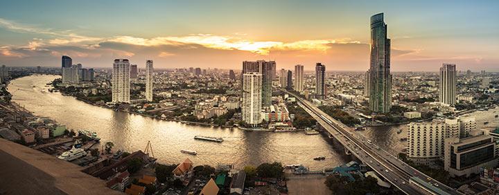 Thailand Sehenswürdigkeiten - Entdecken Sie Bangkok auf unserer E-Bike Reise durch Thailand