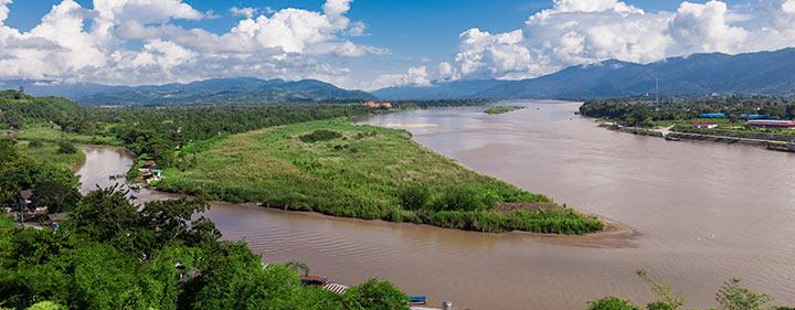Thailand Sehenswürdigkeiten - Goldenes Dreieck
