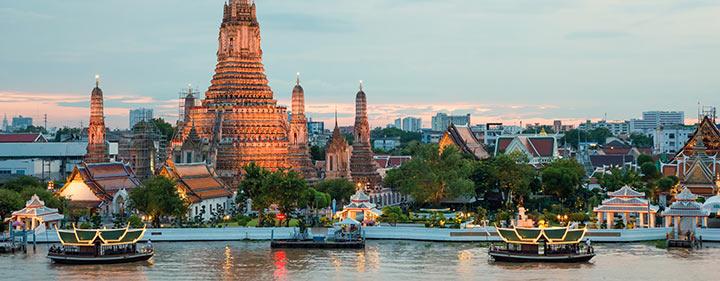 Thailand Sehenswürdigkeiten - Wat Arun - Thailands Tempel der Morgenröte
