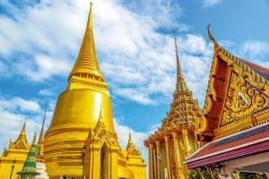 Thailand Reise mit dem E-Bike- Khao Ma: Tritt ein! Wat Phra Kaew Tempel