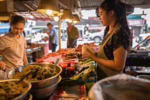 Thailand Rundreise mit dem E-Bike - Auf dem Markt