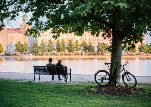 Helsinki erkunden wir auch per Fahrrad