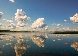 E-Bike Reise durch Finnland - Seenlandschaft in Finnland
