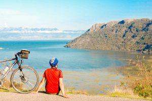 E-Bike Radreise - Blick über den Skadarsee - Kroatien Montenegro
