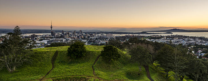 Neuseeland Reise - Panorama Auckland
