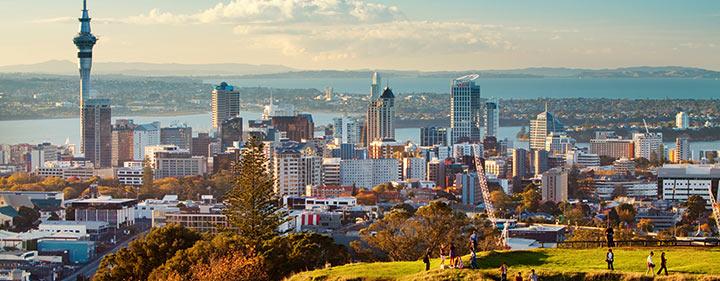 Neuseeland Reise - Herszstück des Landes Auckland