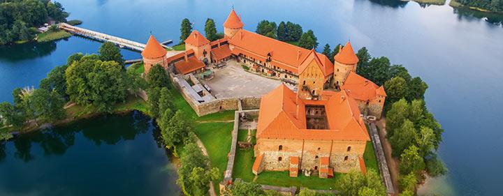 Litauen - Sehenswürdigkeiten - Trakai