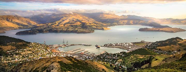 Neuseeland Reise - Christchurch Landschaft