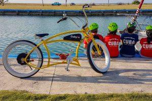 E-Bike Reisen durch Kuba - mit einem Chopper-E-Bike entdecken wir Havanna