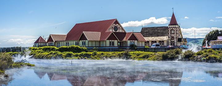 Neuseeland Reise - Stadt Rotorua