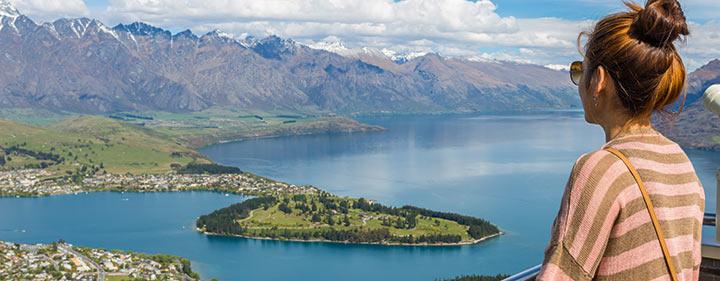 Neuseeland Reise - Queenstwon Panorama