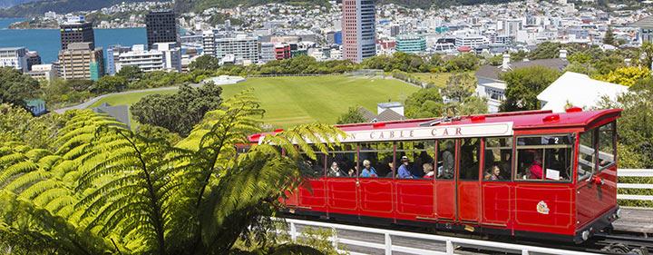 Neuseeland Reise - Hauptstadt Wellington