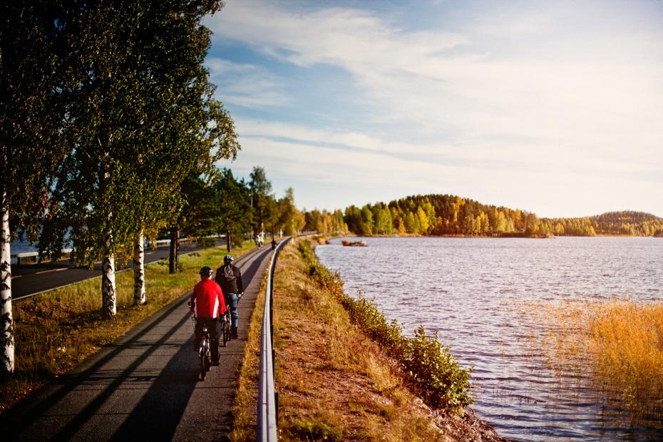 Finnland Urlaub - Lapeenranta - E Bike Reise