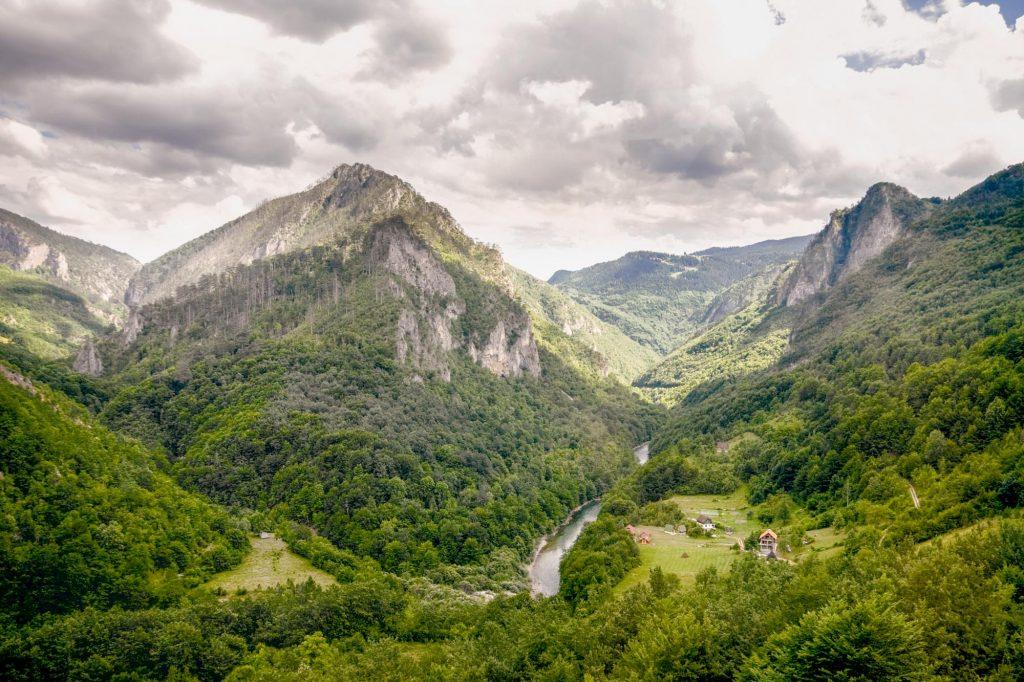 Taraschlucht Kroatien Montenegro