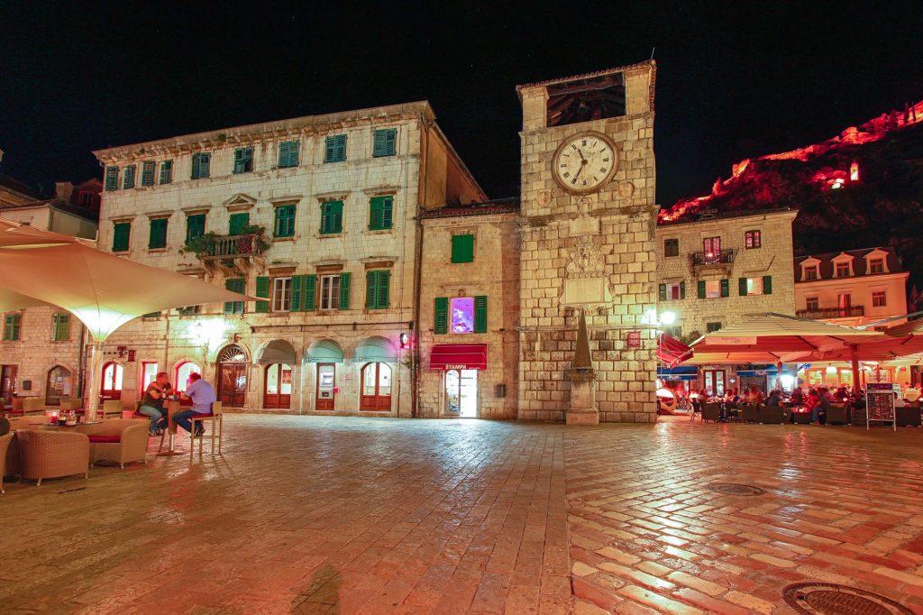 Podgorica die Hauptstadt von Montenegro