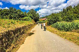 Radreise mit dem E-Bike auf dem Jakobsweg Belvelo