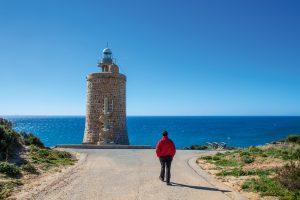 Leuchtturm Andalusien